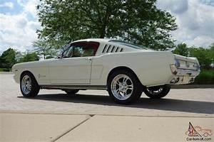 Ford Mustang Fastback 1965 : 1965 ford mustang 2 2 fastback resto mod 408 v8 500 horsepower show winner ~ Dode.kayakingforconservation.com Idées de Décoration