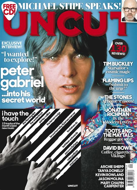 UNCUT magazine cover - PeterGabriel.com