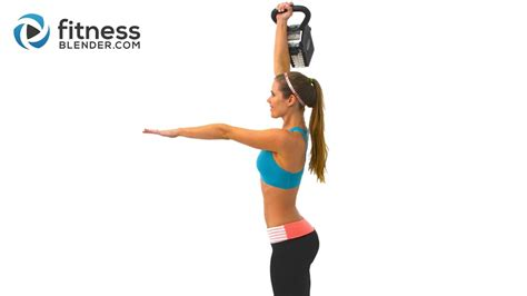 kettlebell blender butt workout fitness kelli exercises minute workouts thighs fast effective training exercise