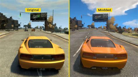 best gta iv mods gta iv icenchancer 3 0 mod graphics comparison gamespot