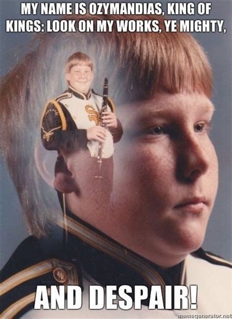 Clarinet Meme - image 93412 ptsd clarinet boy know your meme