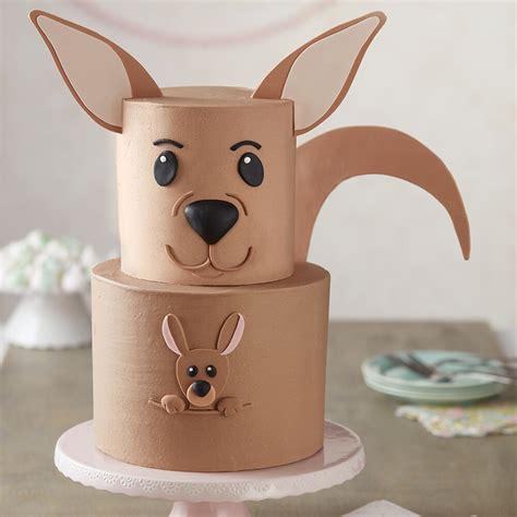 kangaroo cake surprise wilton master aawa wlproj
