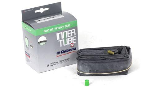 chambre air 700x23c rubena mitas antipuncture 27 5 quot slug self sealant