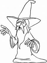 Magician Coloring Pages Coloringpages1001 sketch template
