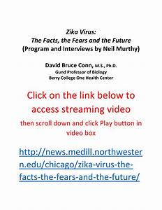 (PDF) Zika Virus: The Facts, the Fears and the Future ...