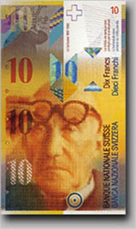 les billets de banque suisses