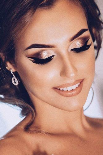 45 Wedding Make Up Ideas For Stylish Brides   Wedding Forward
