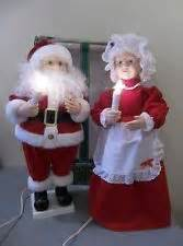 vintage telco motionette animated santa claus christmas decor new 25 quot tall decor christmas