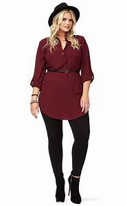 Tenue Mariage Pantalon Et Tunique : pantalon noir et tunique grande taille brodeaux lookbook ~ Melissatoandfro.com Idées de Décoration