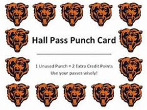 1000 images about hall passes on pinterest With bathroom pass punch card