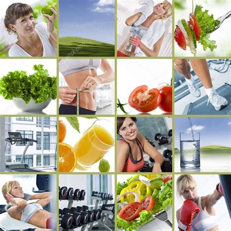 wellbeing collage stock photo  ersler
