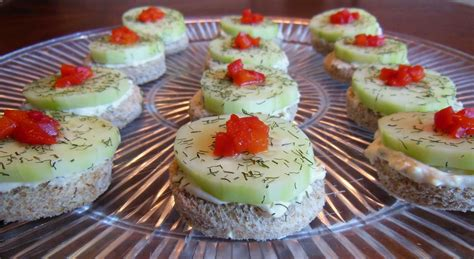 cucumber canapes motor city on my mind cucumber canapés