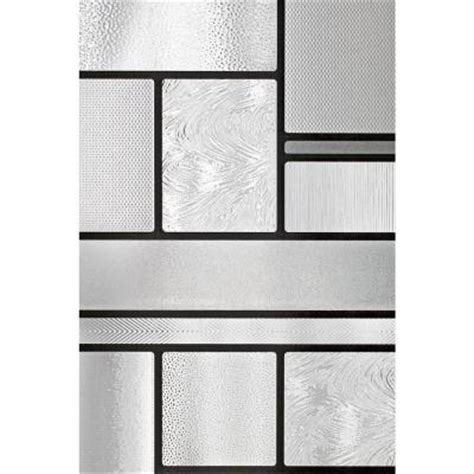 artscape etched leaf decorative window artscape 24 in x 36 in magnolia decorative window