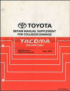 2003 Toyota Tacoma Truck Electrical Wiring Diagrams Service Shop Repair Manual
