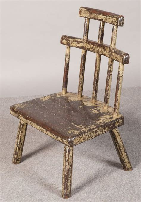 painted comb  chair  country comb