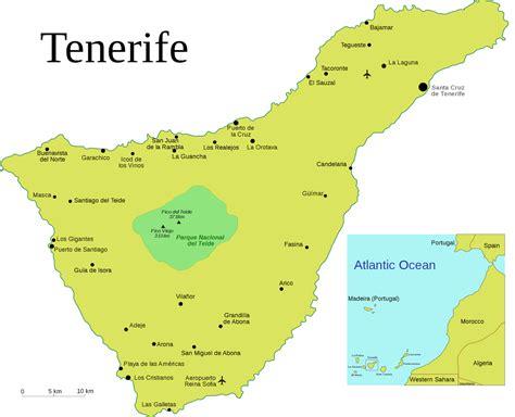 International Study Of Re Regions Tenerife Island Spain