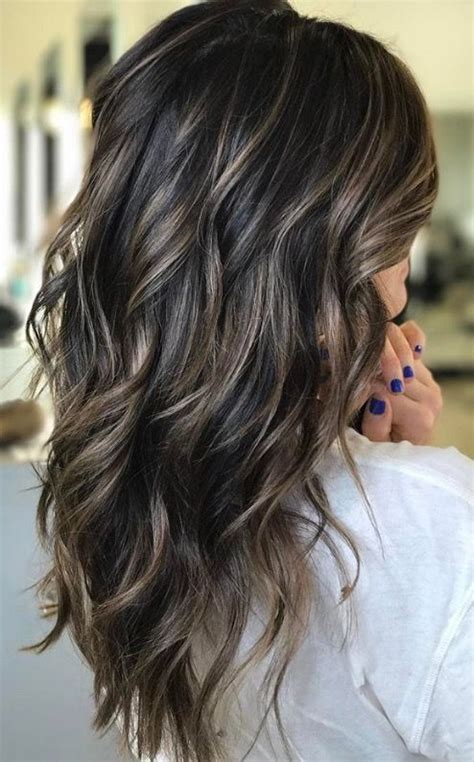 Cool Hair Highlights For Brown Hair by 45 And Sophisticated Brown With Highlight Looks