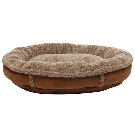 pet bed kong bed pla sherpa pet bed memory foam beige