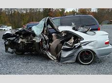 Civic Crash Crushed Like A Soda Can from Car Accidentscom