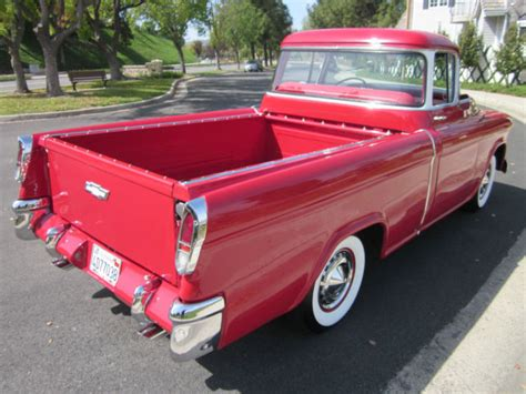 1956 Chevy 3124 Cameo Carrier Fully Restored