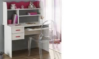 Bureau Blanc Pour Fille by Bureau Enfant Couleur Blanc Et Rose Melodie
