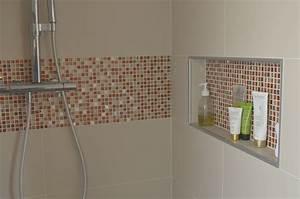 Niche De Douche : niche douche douche l 39 italienne mosa que r tro pop ~ Premium-room.com Idées de Décoration