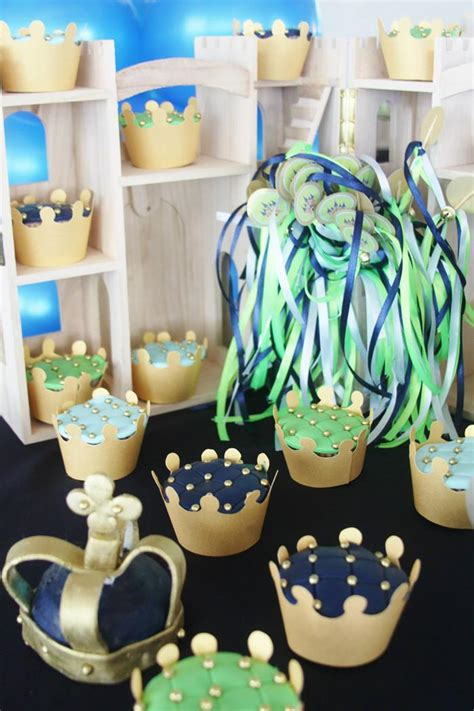 prince baby shower decorations little prince baby shower with lots of cute ideas via kara s party ideas kara spartyideas com