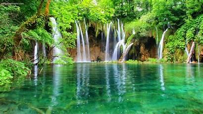 Waterfall Nature Cool Waterfalls Wallpapers Mega 2bhd