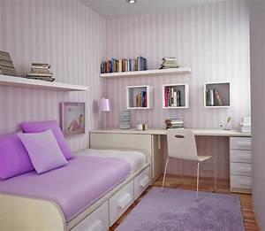 comment rendre votre petite chambre plus grande dar deco With meuble pour petite chambre
