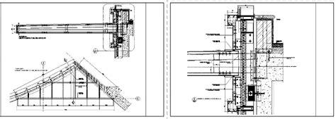 details canopy dwg detail  autocad designs cad