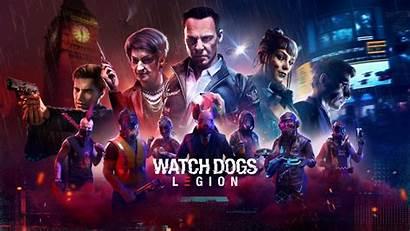 Legion Dogs Characters Screenshots Artwork Colorful