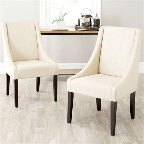 Safavieh Ken Side Chair by Safavieh Britannia Bicast Leather Side Chair Set Of