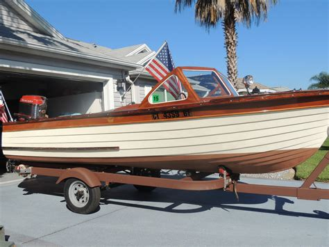 Boat Company by Thompson Boat Company Sea Coaster 1960 For Sale For 2 450
