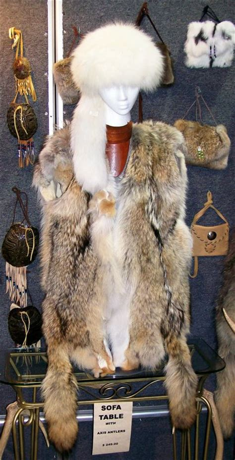 elkhorn trading company leather fur apparel coyote
