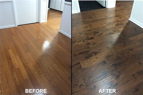 Minwax Hardwood Floor Reviver Before And After by Back Entry Hallway Before After Rainer