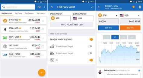 bitcoin mobile apps     top