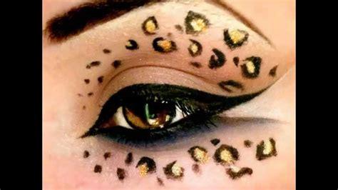 leopard make up leopard print make up tutorial