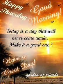 Good Morning Happy Thursday Have a Great Day