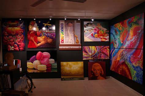 visite de l atelier christophe daras artiste peintre