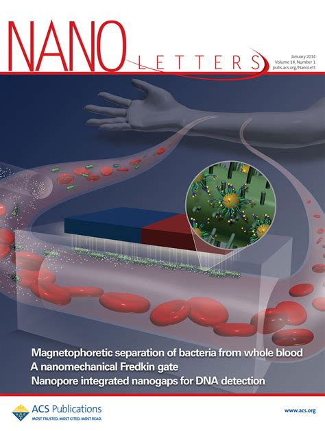 Nano Letters Cover Letter by Journal Covers Langer Lab