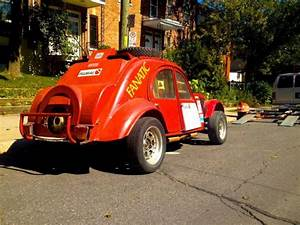 Twin-engine Citroen 2cv Rally Car On Sale