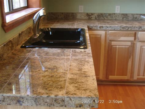 ceramic tile on countertops in kitchen counter tops kitchens and things 9394