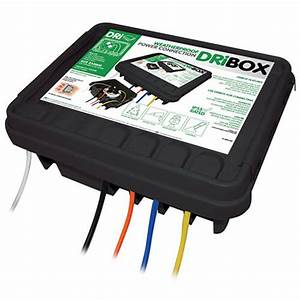 Dribox Weatherproof Powercord Connection Box