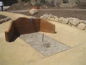 Horseshoe Pit Design