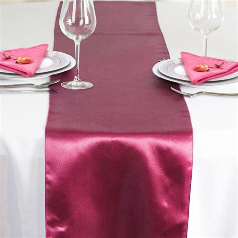 1 10 50 100 satin table runners satin chair sashes cover