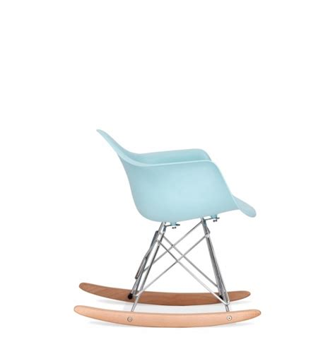 chaise design a bascule chaise eames rar fabulous vitra eames rar plastic rocking