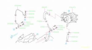 2016 Subaru Sti Turbocharger Oil Line  Engine  Make