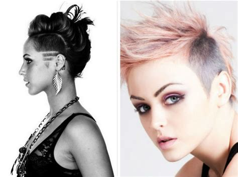 25+ Best Ideas About Women's Shaved Hairstyles On