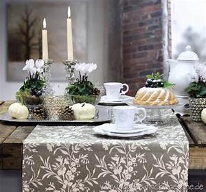Herbst Dekoration Tisch : herbstliche tischdeko tisch decken ~ Frokenaadalensverden.com Haus und Dekorationen