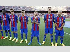 Liga Santander Barcelona have the highest average LaLiga